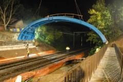 Selbsttragende Bogenbrückenschalung 7