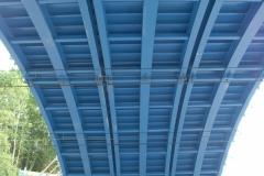 Selbsttragende Bogenbrückenschalung 2